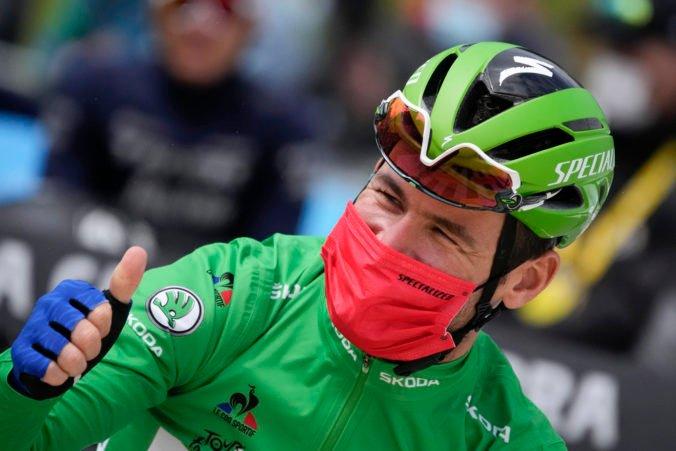 Cavendish je na Tour de France lídrom v súťaži o zelený dres, nechce skončiť a naďalej túži po víťazstvách