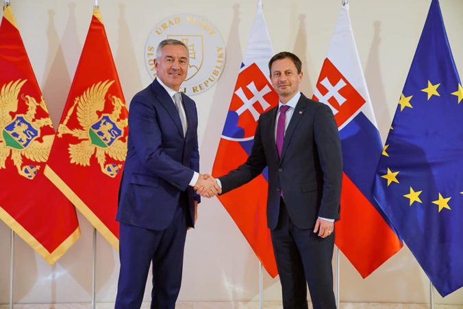 Heger vyjadril podporu eurointegračným snahám Čiernej Hory, Slovensko je vzorom pre krajiny západného Balkánu (foto)