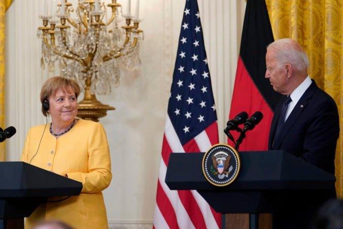 USA a Nemecko sa spolu postavia ruskej agresii, Biden s Merkelovou zaujali jednotný postoj aj voči Číne