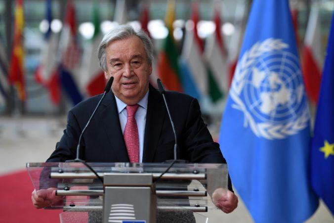Svet čelí hurikánu humanitárnych kríz, vraví šéf OSN Guterres