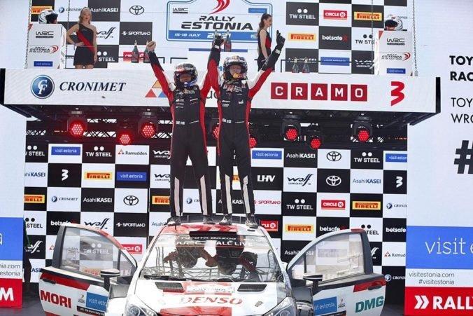 Najmladším víťazom pretekov WRC v histórii sa stal len 20-ročný Fín Kalle Rovanperä