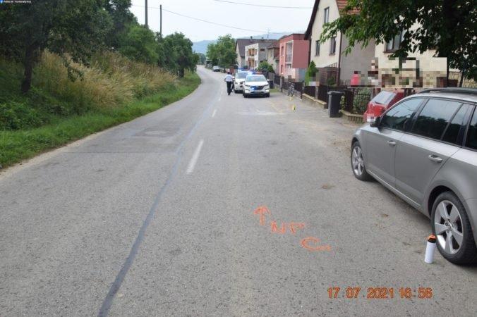 Vodič dodávky zrazil cyklistu a z miesta nehody ušiel, po vypátraní nafúkal viac ako tri promile (foto)