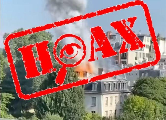 V sídle francúzskeho premiéra mal vzniknúť požiar, podľa polície však ide len o ďalší hoax