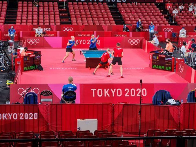 Balážová s Pištejom na olympiáde v Tokiu končia, súperom stačil na postup priemerný výkon
