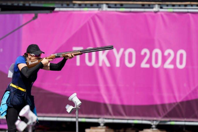 Letná olympiáda v Tokiu (skeet): Barteková medailu nezíska, Wej Meng vyrovnala kvalifikačný svetový rekord