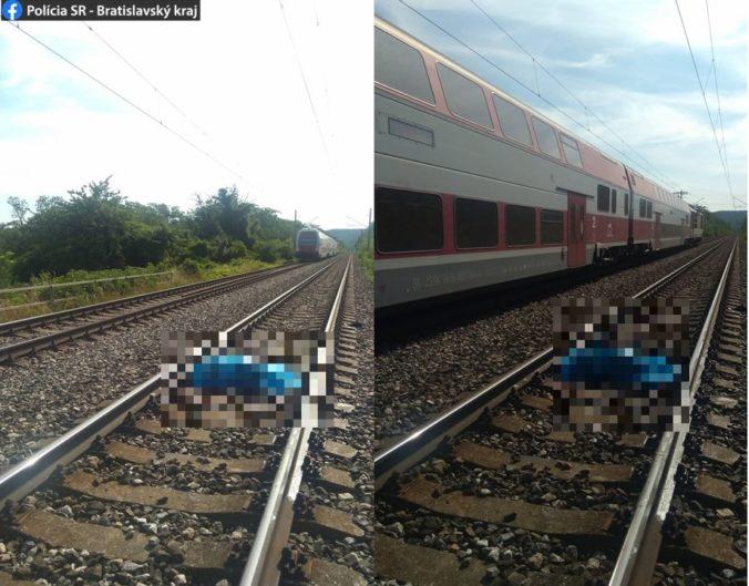 Pod kolesami vlaku zahynul v Bratislave občan Srbska, polícia začala trestné stíhanie pre usmrtenie