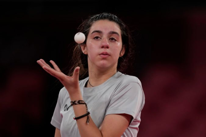 Zazová sa stala najmladšou stolnou tenistkou na olympiáde, do Tokia trénovala v priestoroch zničených vojnou