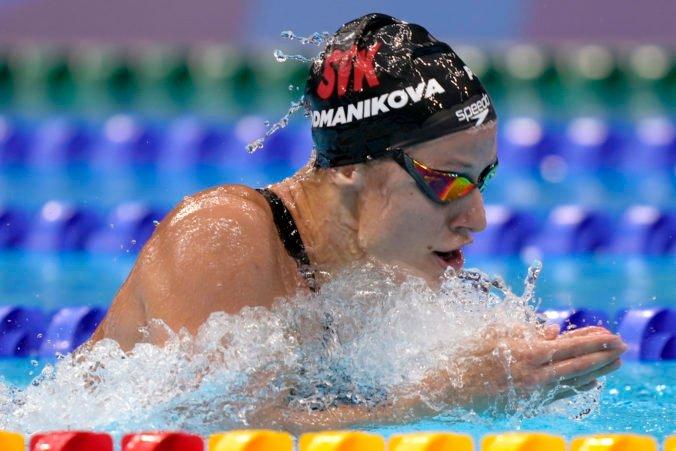 Letná olympiáda v Tokiu (plávanie): Podmaníková držala krok so súperkami, ale v závere jej došli sily