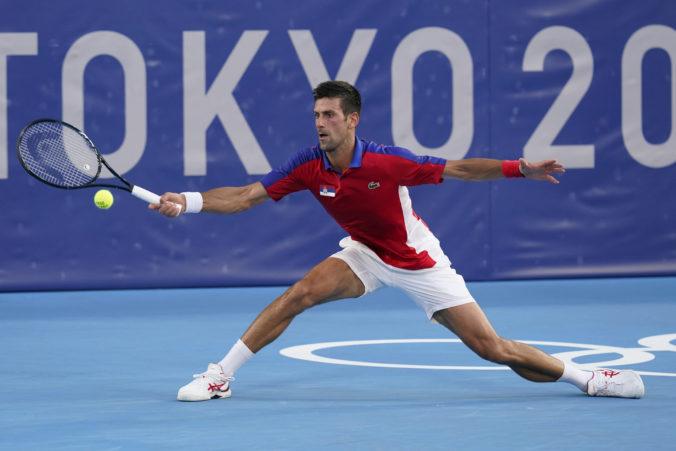 Letná olympiáda v Tokiu (tenis): Djokovič má dve zlaté na dosah, postúpil do štvrťfinále dvojhry aj mixu