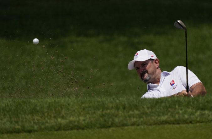 Letná olympiáda v Tokiu (golf): Pred posledným kolom delí Sabbatiniho od medaily päť rán
