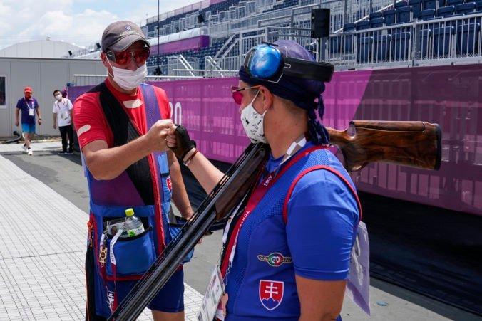 Letná olympiáda v Tokiu (mix trap): Rehák Štefečeková s Vargom bojovali o bronz, duo Špotáková a Kovačócy skončilo ôsme