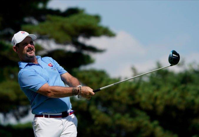Letná olympiáda v Tokiu (golf): Sabbatini predviedol skvelý výkon a berie striebro, zlato putuje do USA (foto)