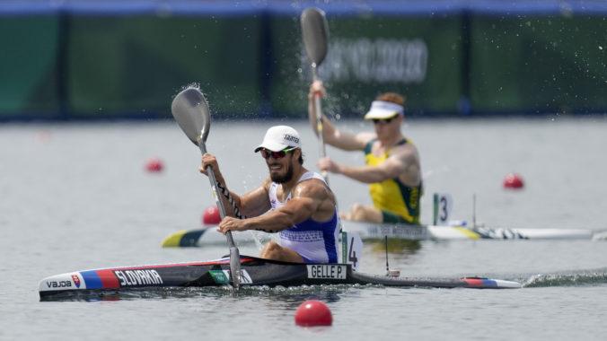 Letná olympiáda v Tokiu (rýchlostná kanoistika): Gelle mohutne finišoval a postúpil priamo do semifinále