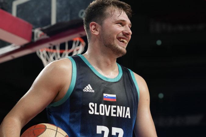 Slovinská hviezda Luka Dončič sa po olympiáde môže tešiť na nový megakontrakt s tímom Dallas Mavericks