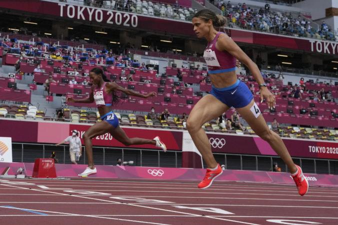 Americký súboj na olympiáde v Tokiu priniesol svetový rekord, McLaughlinová je ako Warholm