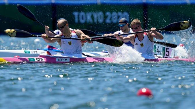 Letná olympiáda v Tokiu (rýchlostná kanoistika): Baláž a Botek potrebovali dve jazdy na postup do semifinále K2