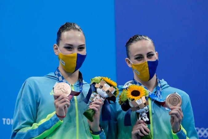 Organizátori olympiády v Tokiu spravili trapas, ukrajinské akvabely pri odovzdávaní medailí označili za Rusky