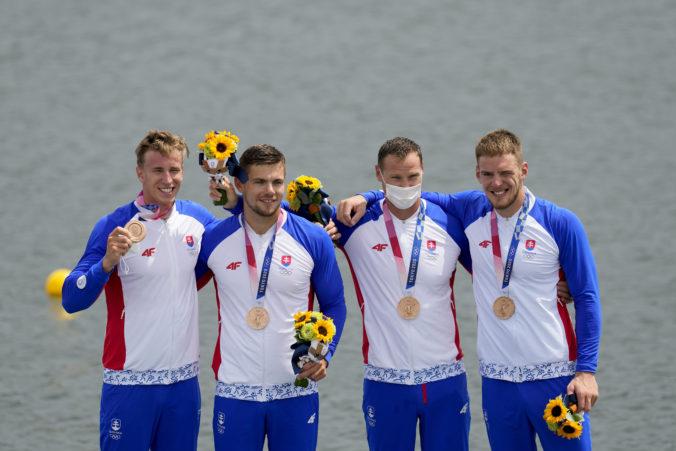 Barteková pochválila bronzových kajakárov, Slováci ako jediní na olympiáde v Tokiu dodržali protokol