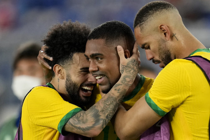 Brazílski futbalisti na letnej olympiáde v Tokiu obhájili titul šampiónov z Ria