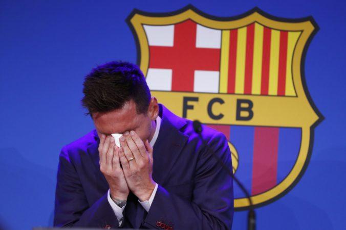 Nie som pripravený opustiť FC Barcelona, povedal Messi so slzami v očiach (video)