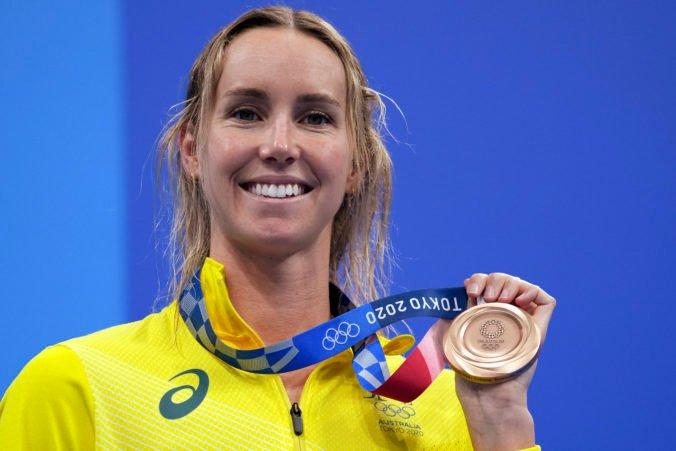 McKeonová získala na olympiáde v Tokiu sedem medailí a Dressel päť zlatých, tri krajiny majú historicky prvý kov