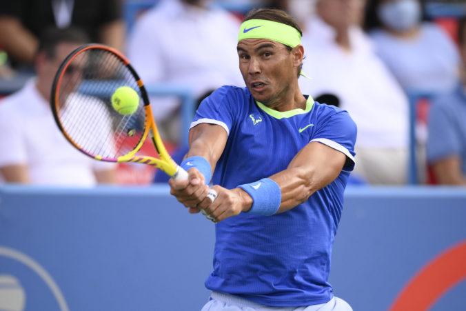 Nadal je po prestávke opäť v súťažnom kolotoči, má pred sebou obľúbený turnaj na tvrdom povrchu