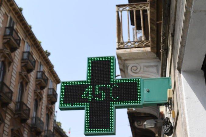 Na Sicílii namerali rekordných 48,8 stupňa Celzia, môže ísť o historicky najvyššiu teplotu v Európe