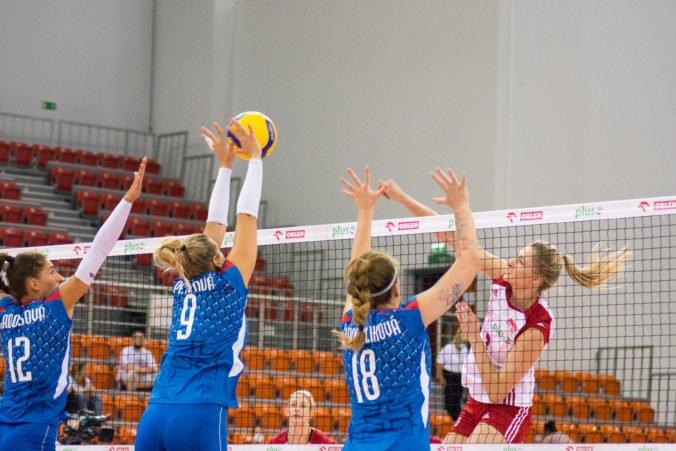 Slovenské volejbalistky v príprave na ME hladko podľahli Češkám, oba výbery čaká generálka na šampionát