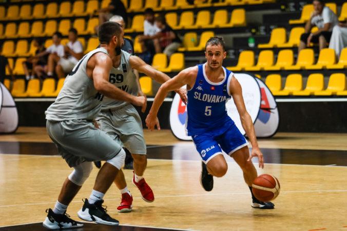 Slovenskí basketbalisti úspešne vstúpili do ďalšej fázy bojov o MS 2023, porazili Švajčiarov