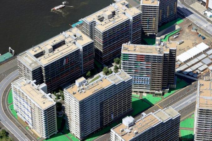 Z olympijskej dediny v Tokiu vznikne sídlisko, predajú viac ako 4-tisíc bytov