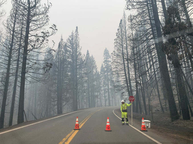 V Portugalsku hrozí vypuknutie lesných požiarov, obmedzené môžu byť aj dopravné komunikácie