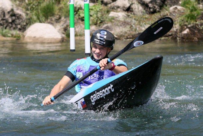 Paňková získala na majstrovstvách Európy v Slovinsku zlato aj v kanoe, brala však aj bronz