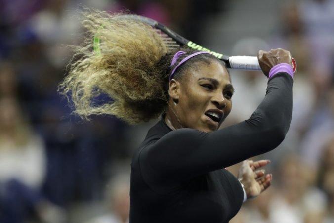 Serena Williamsová nezíska rekordnú 24. grandslamovú trofej, z US Open sa odhlásila pre zranenie