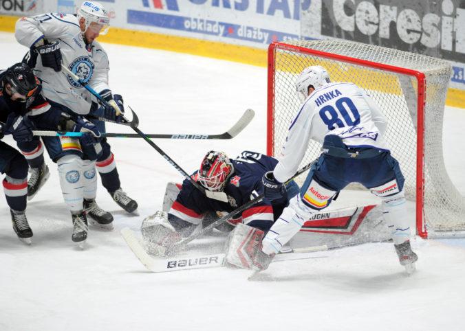 Slovan Bratislava sa v hokejovej Lige majstrov postaví proti Leksandu, Fribourgu a Třincu