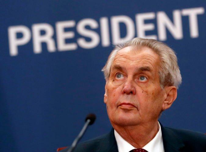 Prezidenta Zemana údajne odpočúvali, šéf Bezpečnostnej informačnej služby jeho tvrdenia poprel