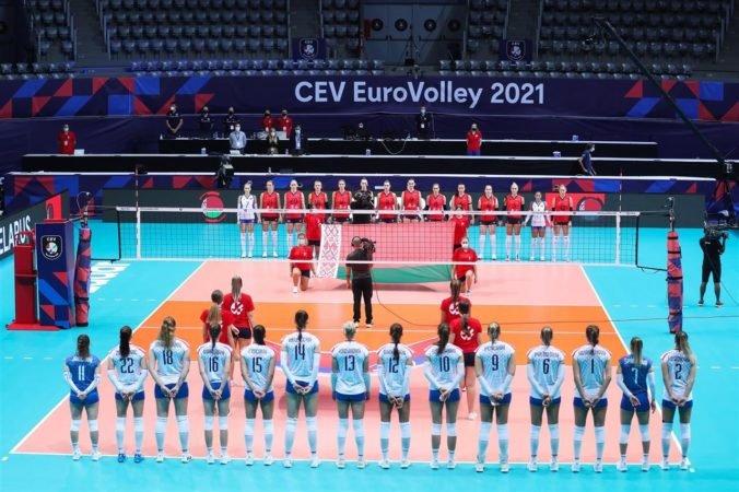 Slovenským volejbalistkám ušlo osemfinále ME len tesne, proti Bieloruskám nevyužili tri mečbaly