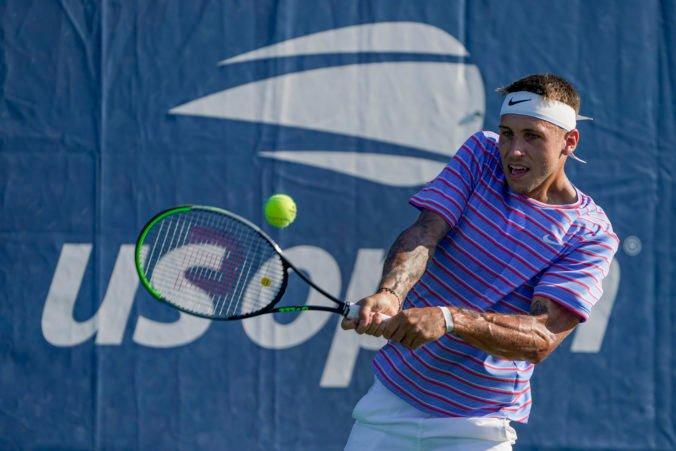 Kučová s Molčanom na US Open zahviezdili a postúpili do 2. kola, frustrovaný Gombos rozbil raketu (video)