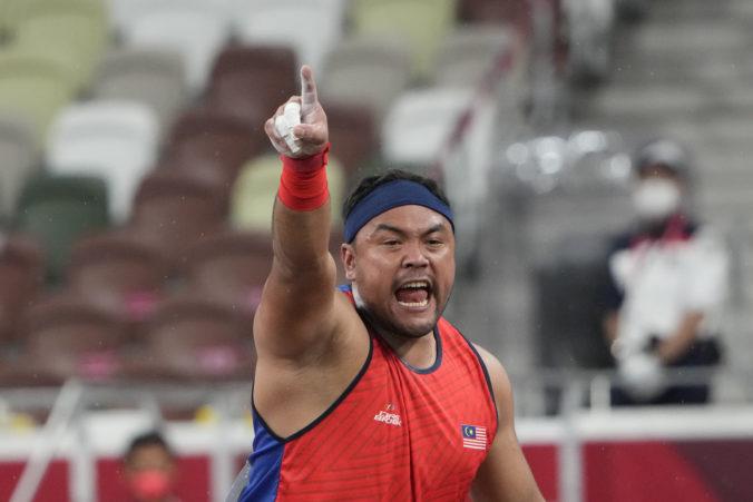 Diskár z Malajzie hodil najďalej, ale pre neskorý príchod na súťaž mohol na zlato zabudnúť