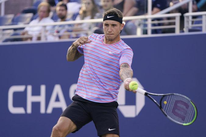 Alex Molčan na US Open dohral, v 3. kole dvojhry nestačil na favorizovaného Schwartzmana