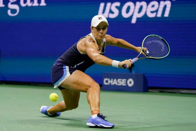 Svetová jednotka vypadla na US Open už v treťom kole, Bartyovú vyradila domáca hráčka