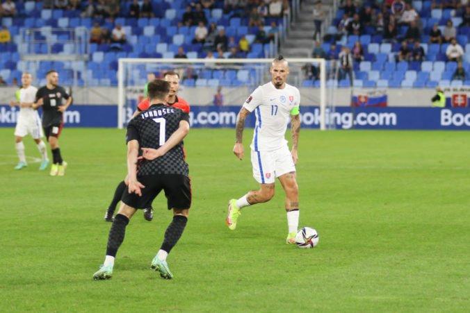 Tréner Tarkovič napriek prehre vyzdvihol výkon Slovákov, proti Chorvátom by nebol spokojný ani s remízou
