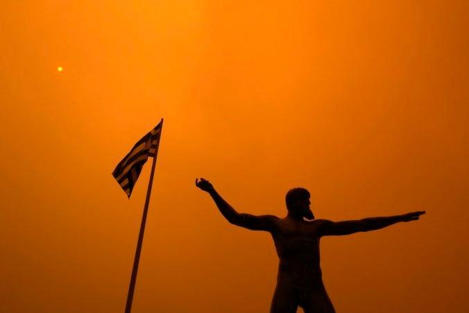 Veľké lesné požiare v Grécku prinútili vládu, aby vytvorila ministerstvo zamerané na klimatickú krízu