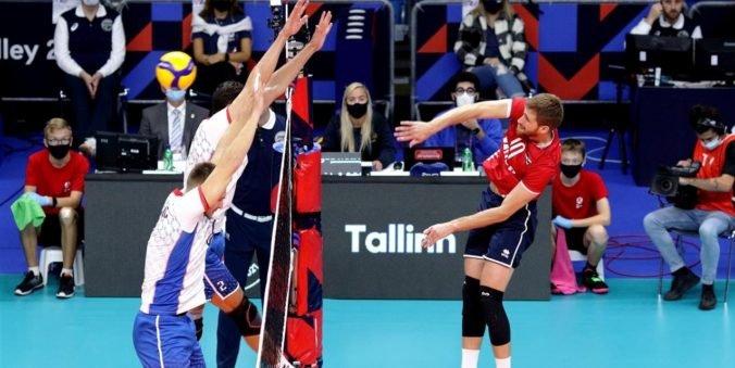Slováci na ME vo volejbale podľahli Chorvátom, ale stále môžu postúpiť do osemfinále
