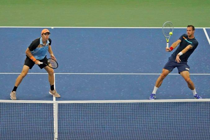 Polášek sa druhého grandslamového titulu v tomto roku nedočká, s Peersom skončili v semifinále debla na US Open