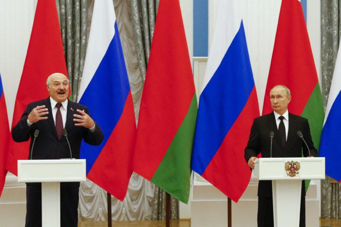 Rusi a Bielorusi utužujú vzájomné vzťahy, Putin a Lukašenko ohlásili pokroky v integrácii krajín
