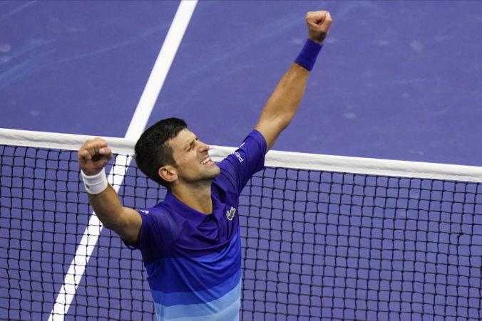 Djokoviča delí od historického úspechu len krôčik, do finále US Open chce vložiť srdce, dušu i telo