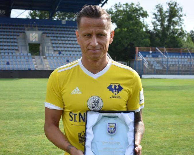 Igor Žofčák dosiahol významnú métu, v najvyššej slovenskej futbalovej súťaži odohral už 400 zápasov