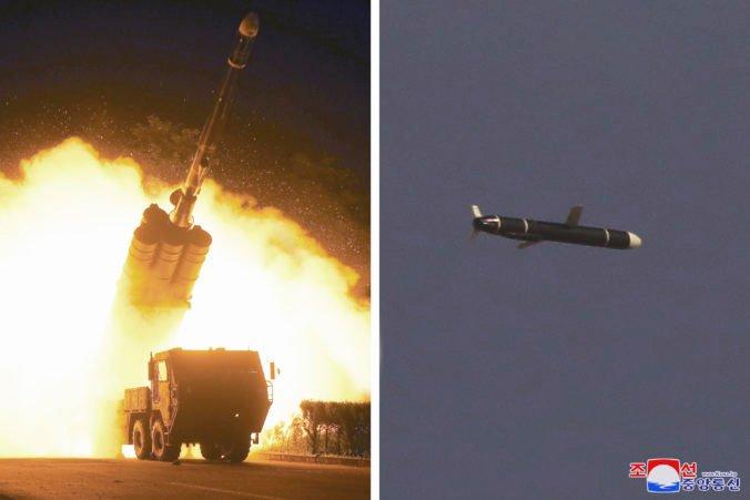 Severná Kórea otestovala nové riadené strely, zasiahnu cieľ vzdialený aj 1500 kilometrov