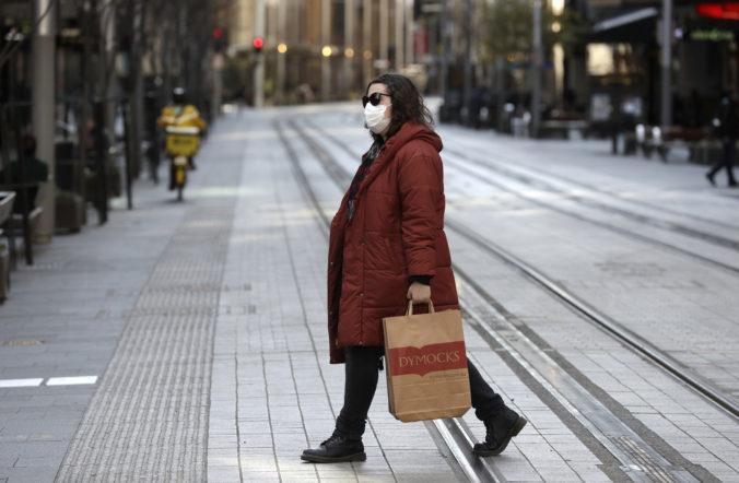 Hlavné mesto Austrálie ostáva naďalej v lockdowne, v krajine sa šíri delta variant koronavírusu