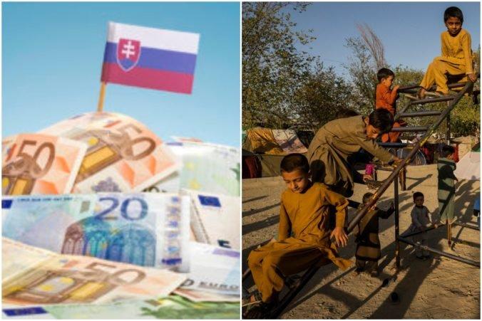Slovensko poskytne Afganistanu 500-tisíc eur, krajine hrozí humanitárna katastrofa